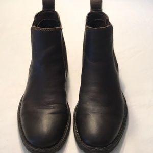 Born Dark Brown Men Leather Boots Sz 8